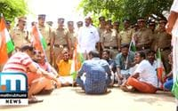 Palakkad Youth Congress Workers Stage Protest After Woman Alleges Sexual Assault Inside CPM Office