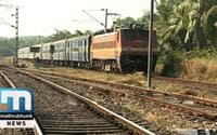 Trade Unions On Strike Against Railway Privatisation
