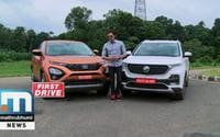 All About Two Latest SUVs- Tata Harrier, MG Hector, On First Drive