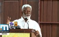 Kummanam Furious With Actors' Long March