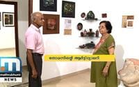 Thomas, Wife Turn Chazhoor House Into Art Gallery