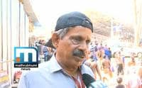 Suresh Faithfully Works For 'Mission Green Sabarimala'